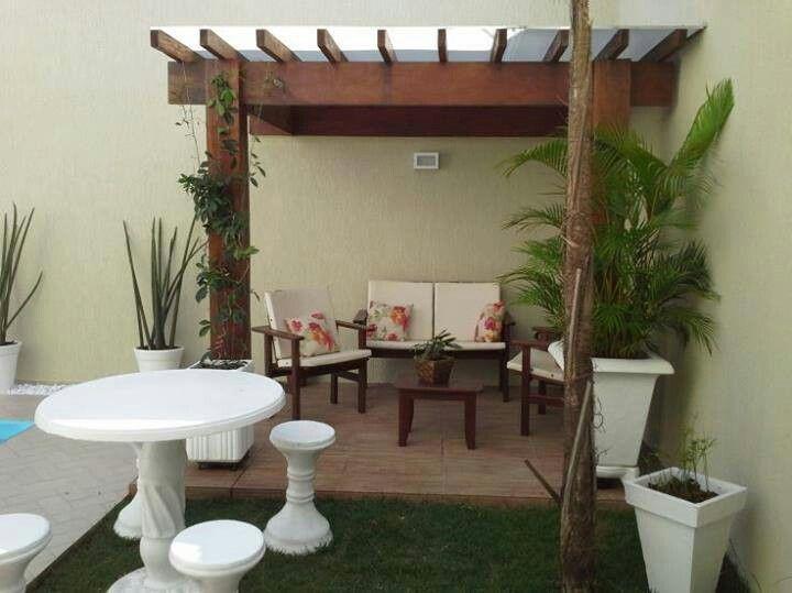 Peque a terraza riconcitos pinterest for Patios para casas pequenas