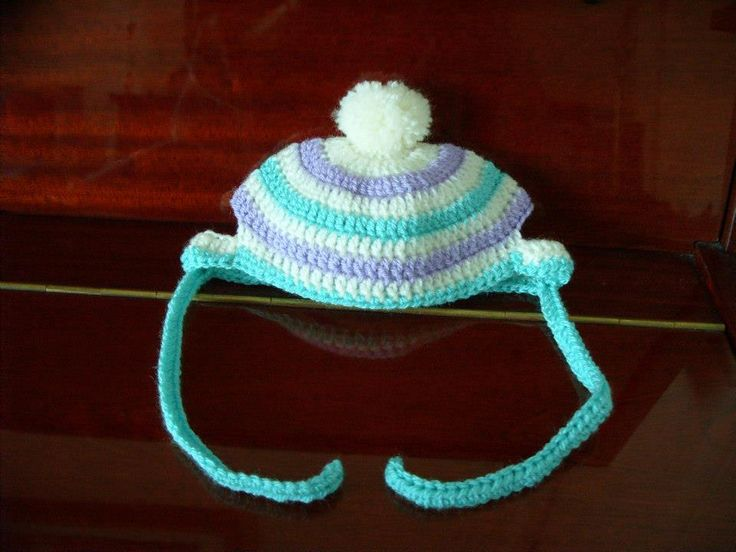 Knitting Pattern Hat With Dog Ears : Pin by Katie Johns on My crochet projects 2012-2013 ...