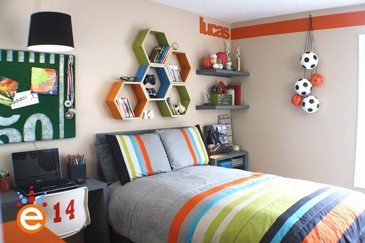 Little boys sports room ideas as kaden grows pinterest for Boys sport bedroom ideas