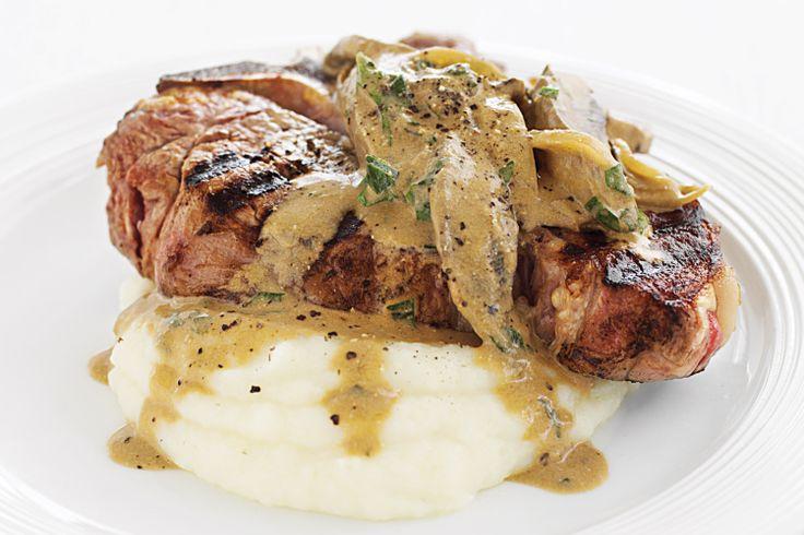 bone With Creamy Mushroom Stroganoff Recipe - Taste.com.au
