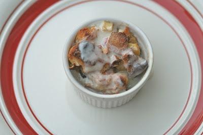 Heather Rolin: Apple Pie Bread Pudding w/Maple Caramel Cream Sauce