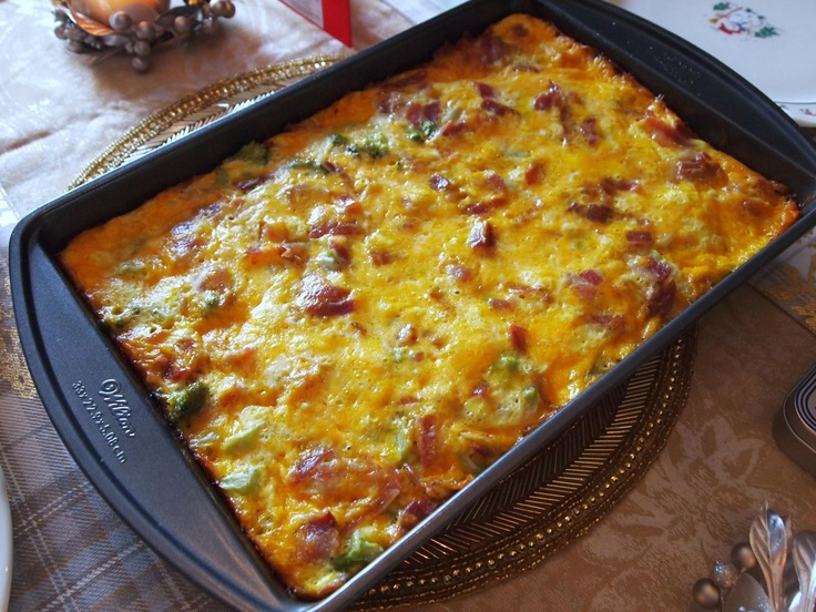 Tater Tot Breakfast Casserole -- made it exactly as shown for ...