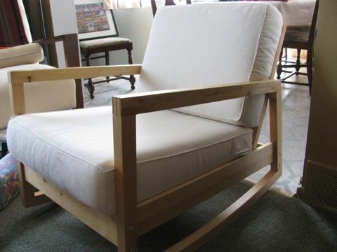 Ikea Lillberg Rocking Chair FOR SALE Pinterest