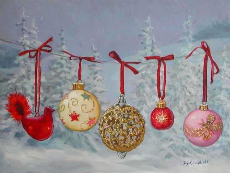 Becca Joy Campbell (1988-2014) — Christmas Ornaments, 2011  (1132x854)