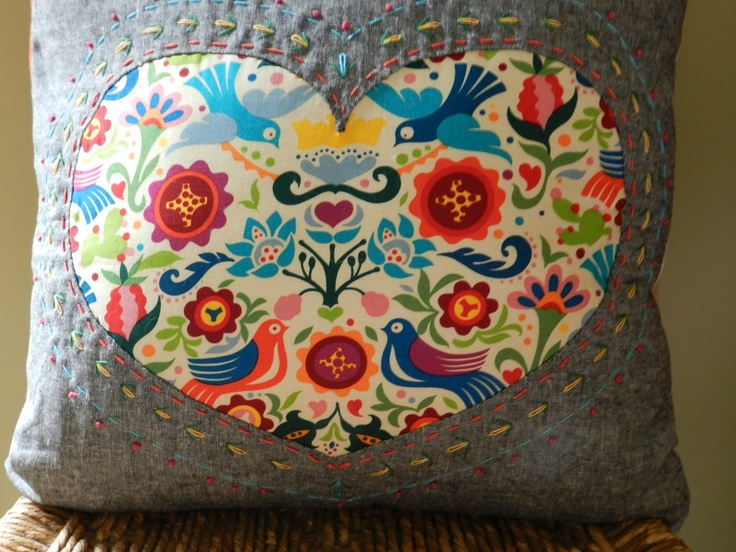 reverse applique | SEW: Applique | Pinterest