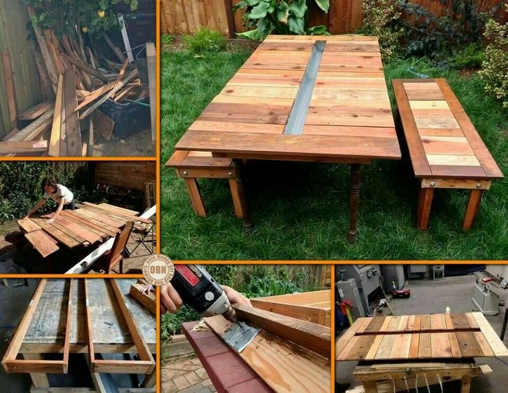 Picnic table with cooler gardening pinterest Picnic table with cooler plans
