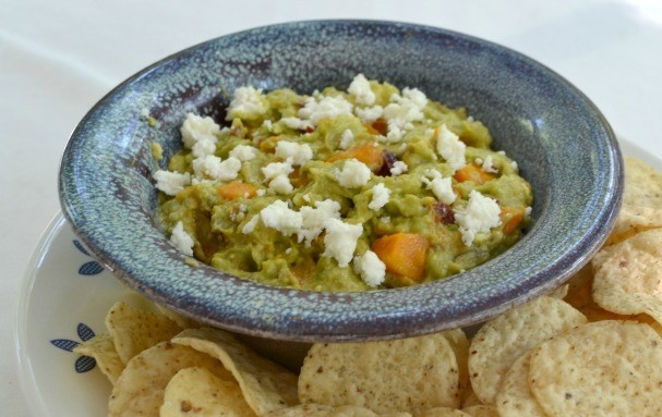 Guacamole with butternut squash, chipotle & queso fresco @Examiner ...