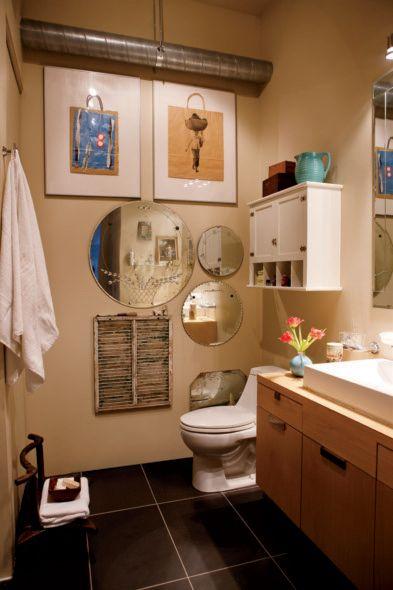 Loft mi chic mi boh me la salle de bain clectique d cormag for Decormag salle de bain