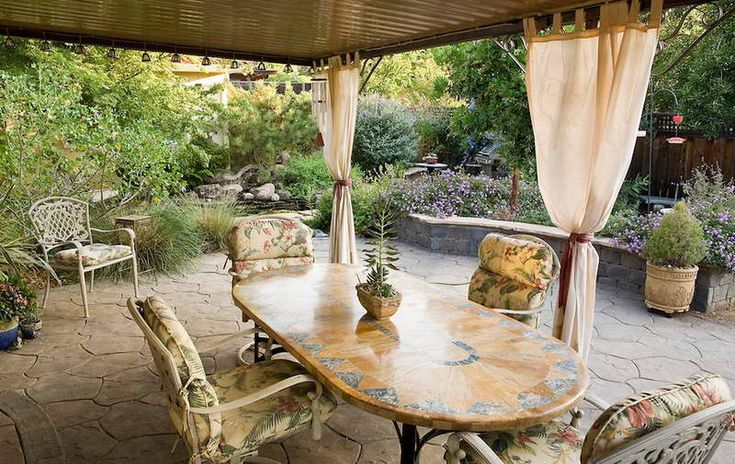 Outdoor patio ideas outdoor patio ideas pinterest for Terrace ideas pinterest