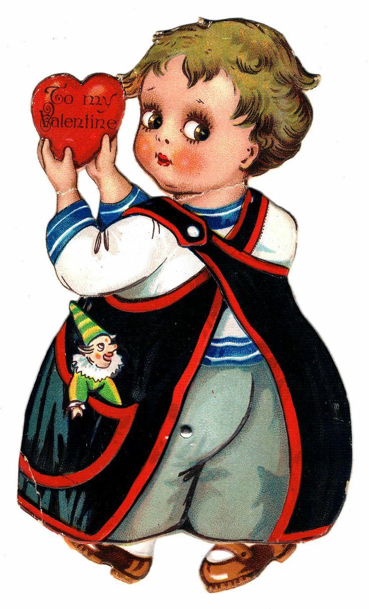 1920s Valentine Card