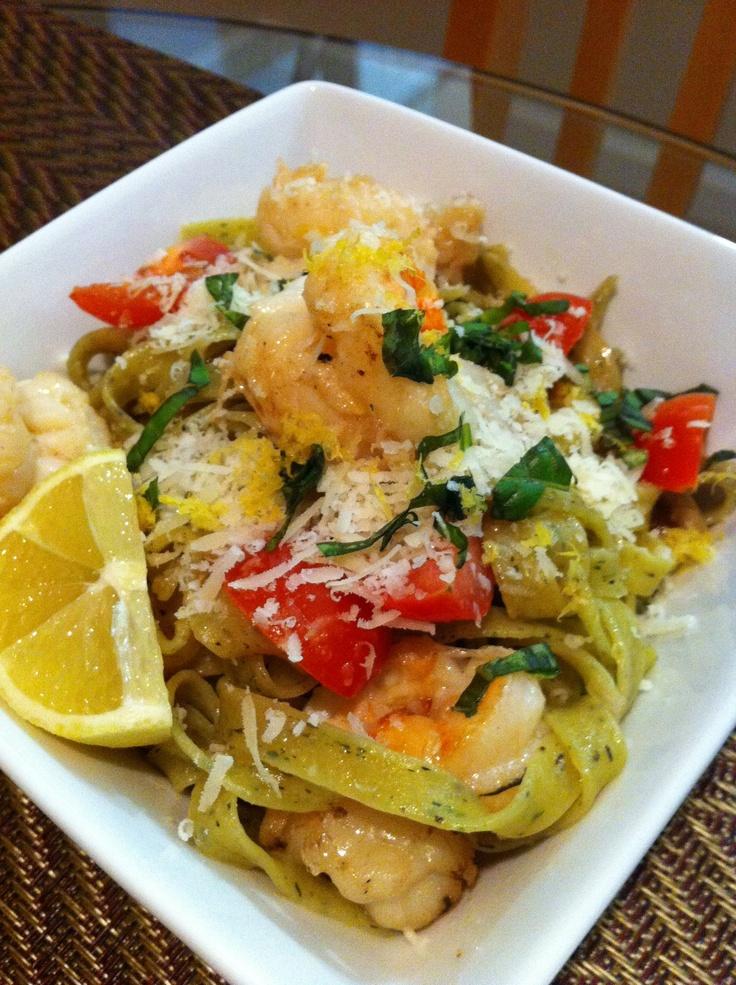 Pasta With Meyer Lemon And Basil Recipes — Dishmaps