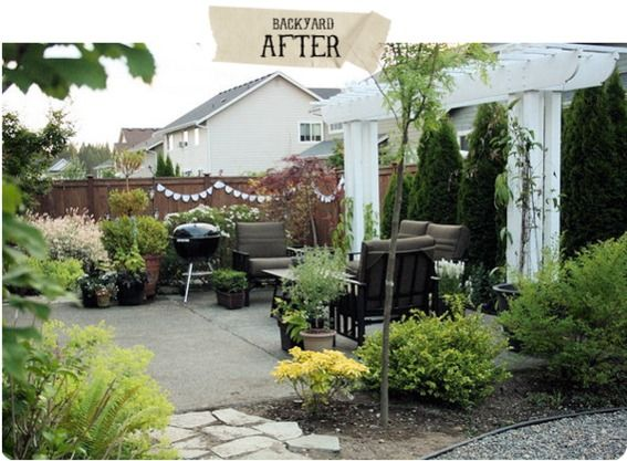 awesome backyard makeover and like the makeovers on the site too