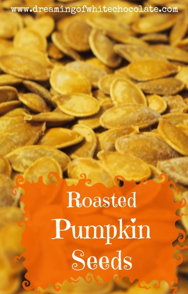Roasted Pumpkin Seeds | Recipes To Try | Pinterest