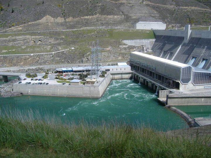 Clyde New Zealand  city photos : Clyde dam New Zealand.