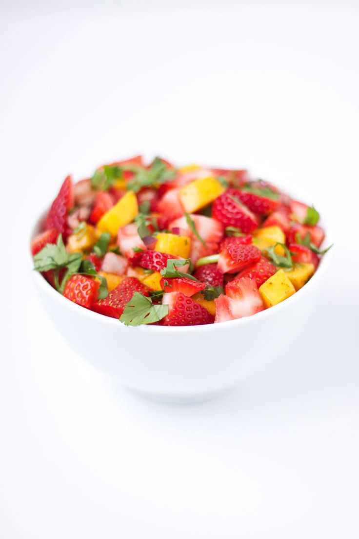 Strawberry Mango Salsa | Recipe