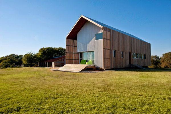 Modern barn house houses i love pinterest for Modern barn house
