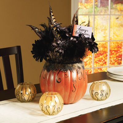 Elegant Halloween Centerpiece Projects Home Decor