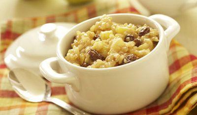 Apple cinnamon rice pudding.....recipe | Food | Pinterest