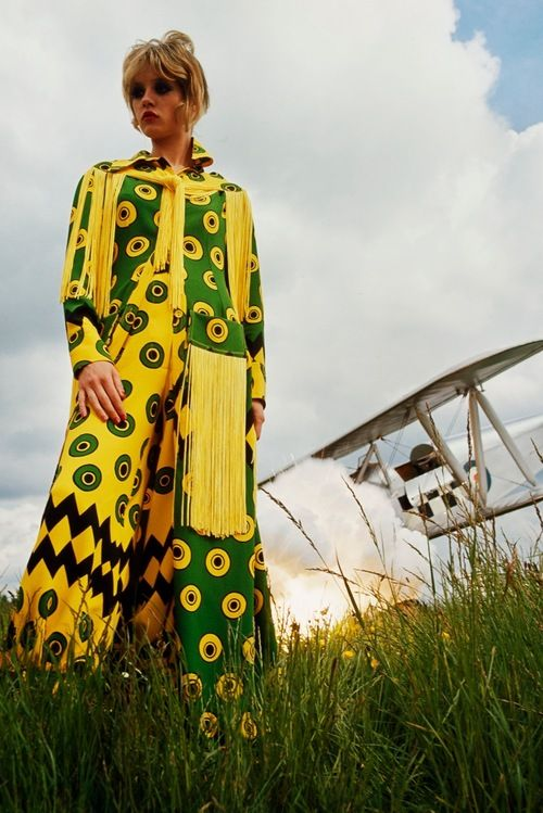 1969 Ossie Clark fashion