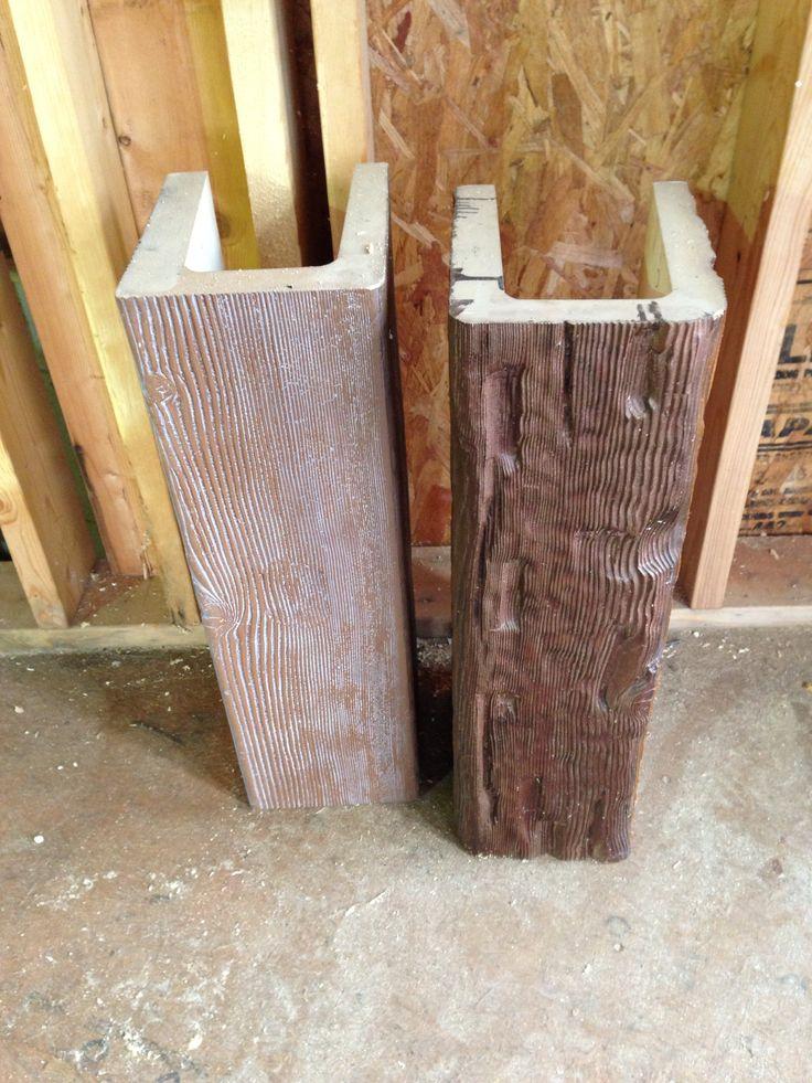 Faux Wood Beam Wrap Home Pinterest