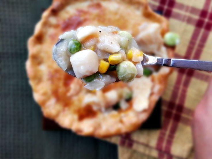 Scallop pot pie | Mother's Day Brunch | Pinterest
