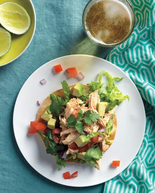 Chicken Tostada Salad | Recipe