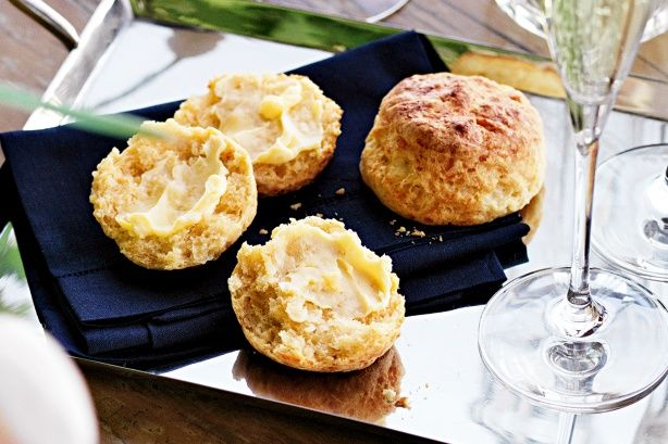 """Cheddar """"biscuits"""" 