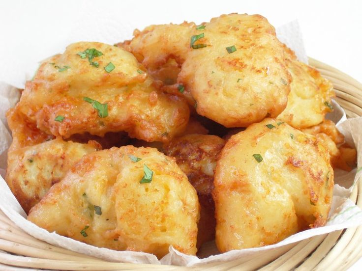 ... mashed potatoes, are these Potato Cheese Puffs. Like a dinner roll and