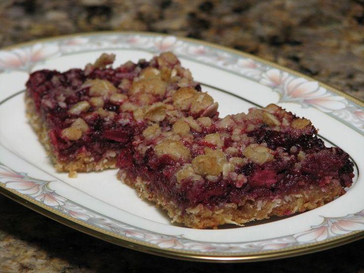 Blackberry Oatmeal Breakfast Bars @ FriendsFoodFamily.com