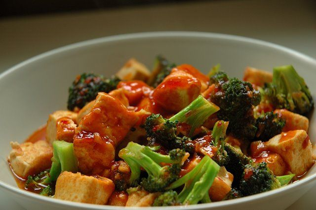 Broccoli and Tofu stir fry | easy things to cook | Pinterest