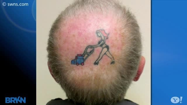 Pin by wtgcdfy on bank reform pinterest for Tattoo bald spot