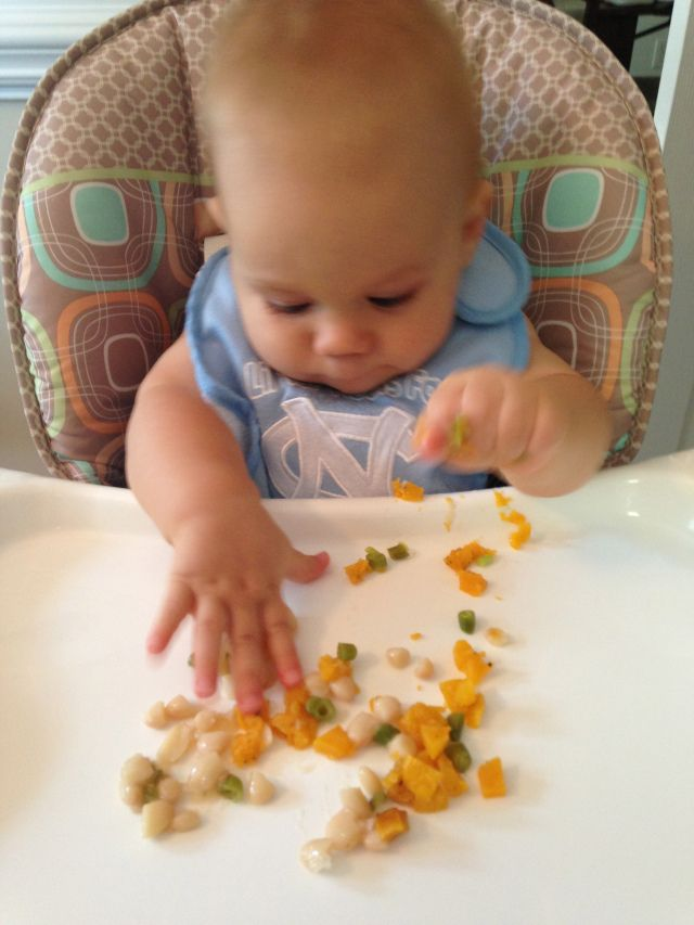 Finger Foods For  Month Old Baby