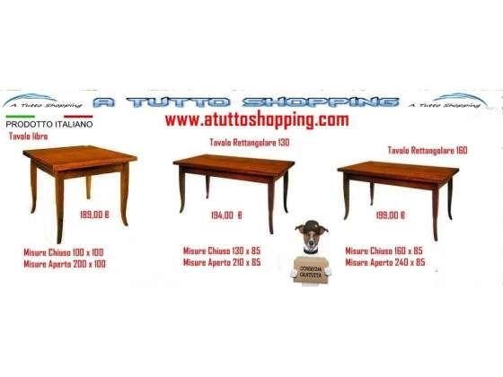 Tavoli in legno allungabili  Arredamenti & Complementi  Pinterest