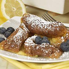 lemon-berry puff pancake | Breakfast | Pinterest