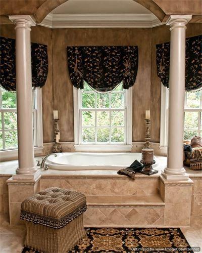 Elegant master bath bathrooms pinterest for Elegant master bathrooms pictures