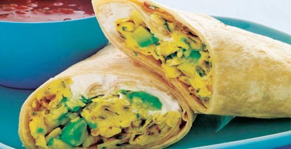 Scrambled Burrito | KitchenDaily.com