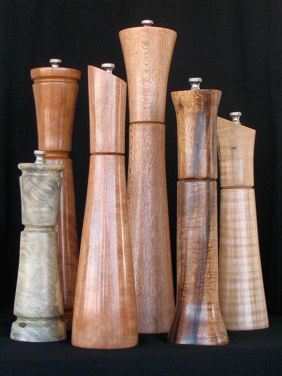 Pepper mills woodturning pinterest for Pepper mill plans