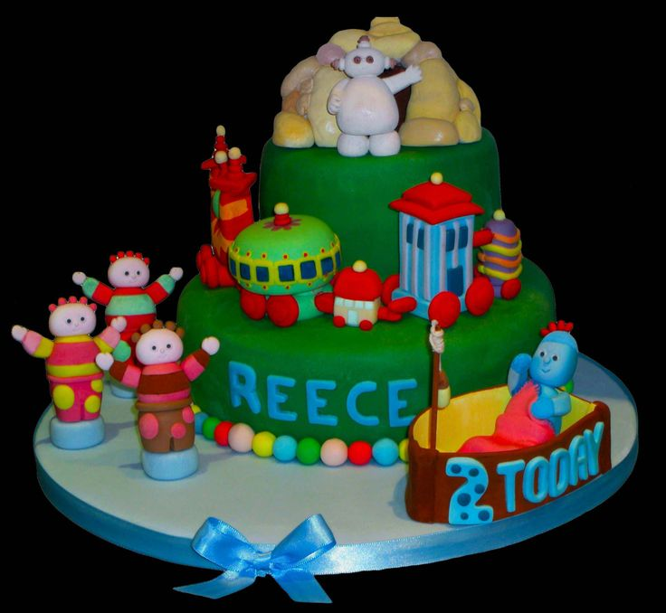 In The Night Garden Cake Toppers Edible