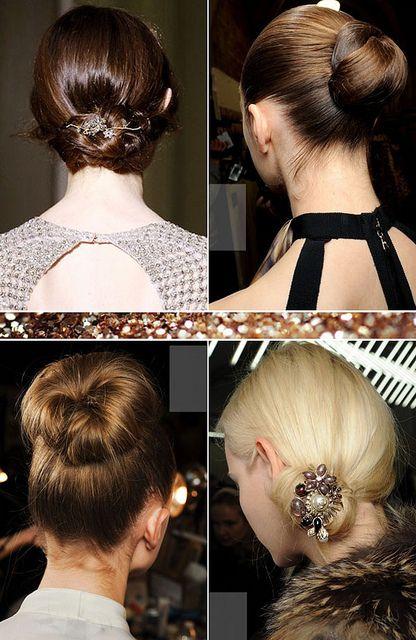 {hair inspiration : the always elegant chignon}