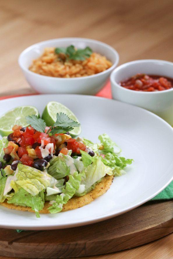 Turkey Tostada Salad from @April Cochran-Smith @April @foodnfocus
