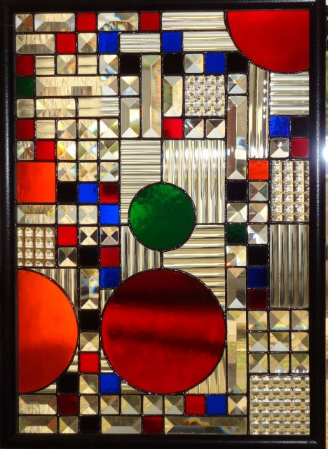 Stained GlassFrank Lloyd Wright Stained Glass Circles