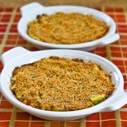 Baked Artichoke Hearts Au Gratin with Green Onion, Parmesan, and Roma ...
