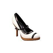 Charles Albert Shoes NYC - White/Black at Kmart.com