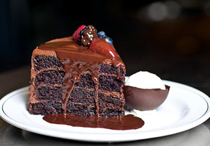 mile high chocolate cake | Cake, Lets Eat | Pinterest