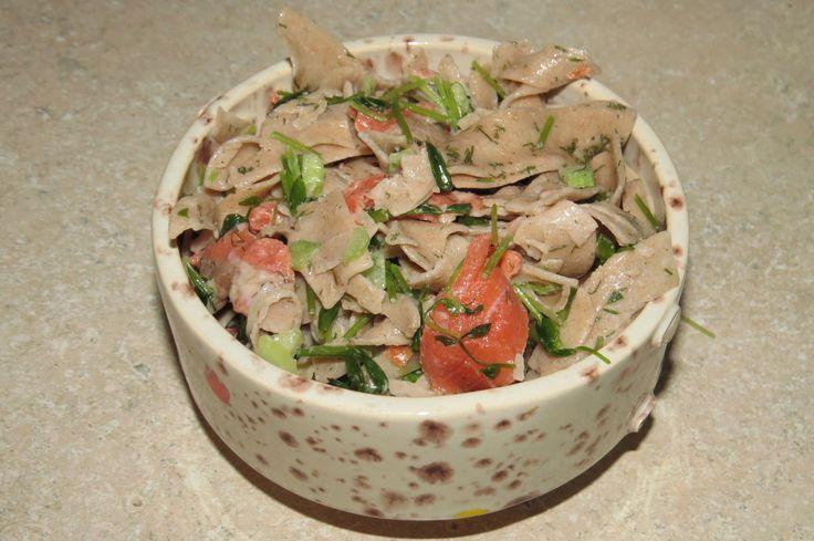 Smoked Salmon Pasta Salad | My Non-Vegetarian | Pinterest