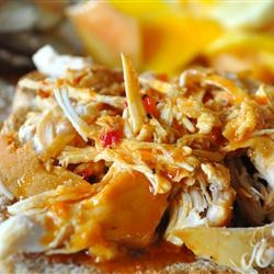 BBQ Slow Cooker Chicken http://allrecipes.com/recipe/zesty-slow-cooker ...