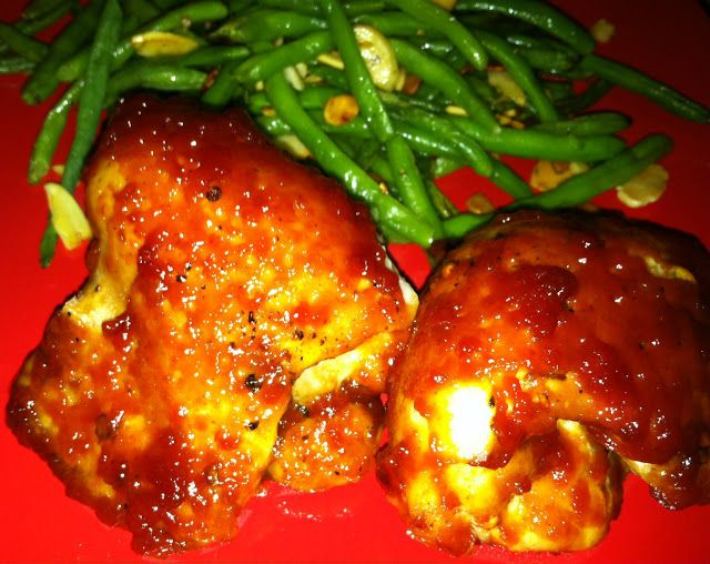 Orange Soy Glazed Chicken Thighs Recipes — Dishmaps