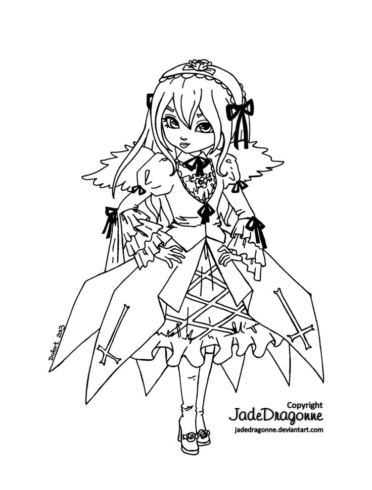 jadedragonne deviantart coloring pages - photo#2