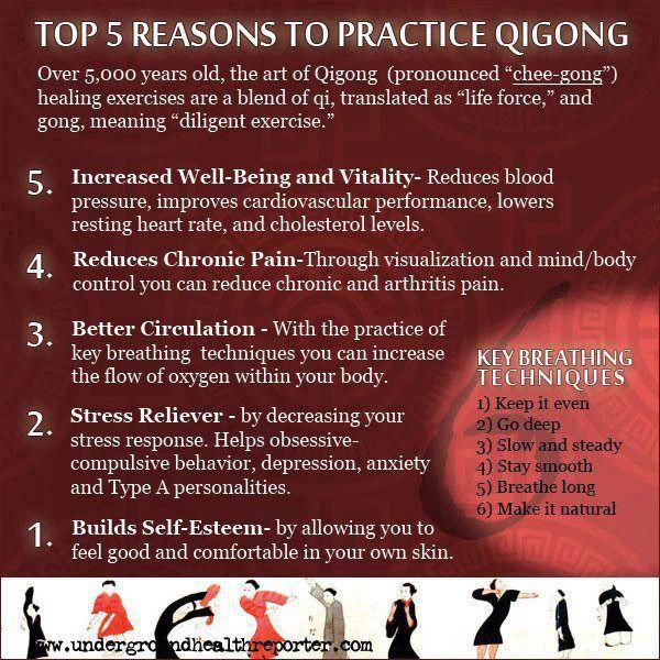 What is Qigong? | Health & Wellness | Pinterest