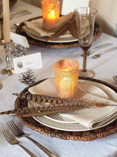 Homemade thanksgiving decoration ideas photograph lee s for Handmade thanksgiving decorations